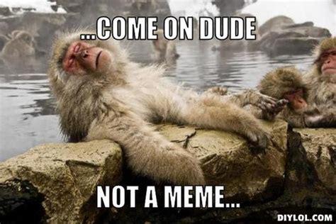 Monkey Meme Generator - image 170537 mafia dog know your meme