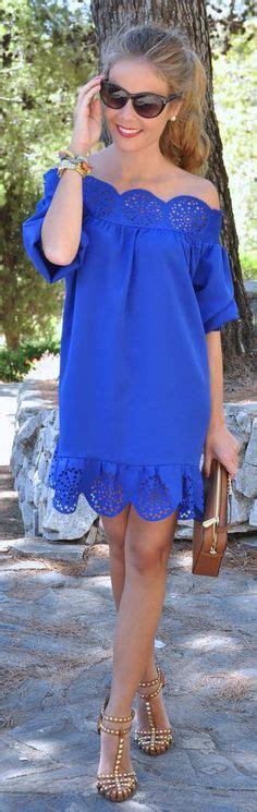 Blue Mix Lace Shirt Dress asymmetrical and ruffle inspiration dress by
