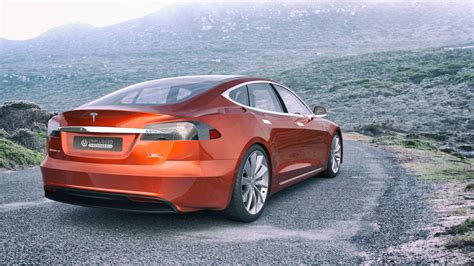 Orange Tesla Model S Tesla Model S Named Best Model In Quot Customer Index