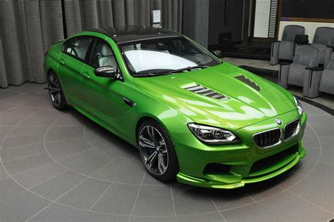 green bmw java green bmw m6 gran coupe defines unique gtspirit