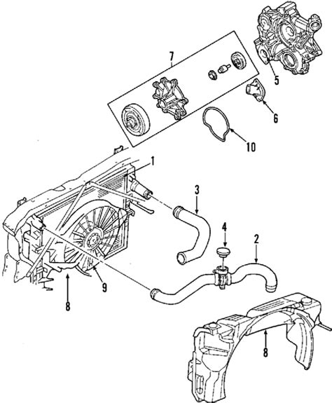 dodge dakota parts diagram parts 174 dodge dakota cooling fan oem parts