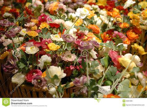 stock fiori artificiali fiori artificiali sulla vendita immagine stock immagine
