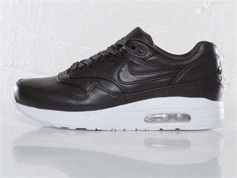 nwb nike air maxim 1 sp s shoes black leather