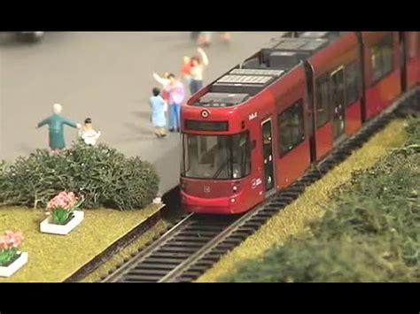 youtube h0 layout ho model tram layout bombardier flexity and stadler