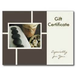therapy gift certificate template free 6 best images of gift certificate template