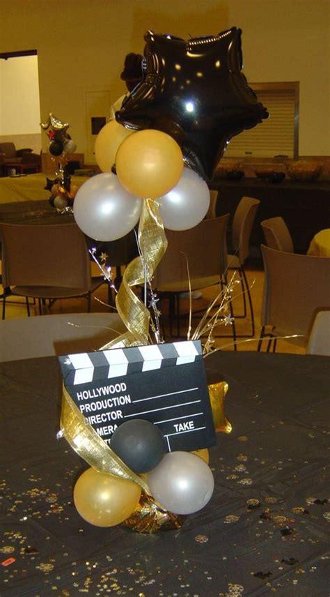Festa Cinema Decora 231 227 O Para Festa Tema Cinema Oscar E Balloon Centerpieces For Tables