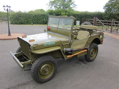 1942 Willys Jeep For Sale For Sale Slat Grille Willys Mb Us Army Jeep 1942