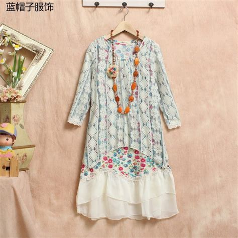 Patchwork Robe - aliexpress buy dress patchwork robe ropa