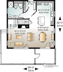 Garage With Apartment Above Floor Plans House Plan W3929 V1 Detail From Drummondhouseplans Com
