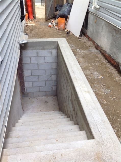 Basement Entrances basement stairs outside page 2 masonry contractor talk