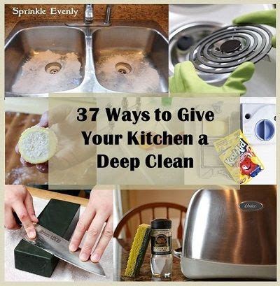37 ways to deep clean the kitchen trusper 37 ways to give your kitchen a deep clean roundups