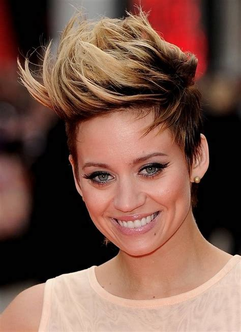 faux hawk hairstyles for women over 40 kimberly wyatt pompadour hairstyle pretty designs
