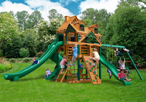 gorilla swing set clearance lowest price gorilla malibu deluxe ii playset swingset