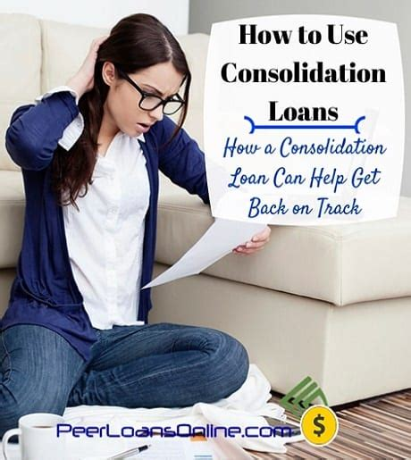 debt consolidation loans for with bad kredit how to use consolidation loans for bad credit