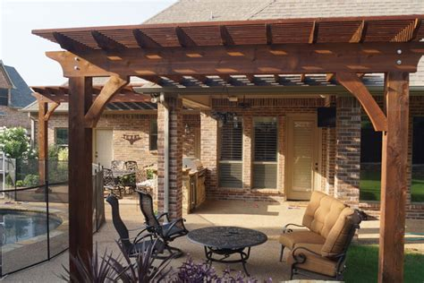 patio renovation arbor projects pergola projects traditional patio dallas by dfw creative homes renovation