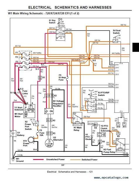 wiring diagram for deere l120 deere schematics