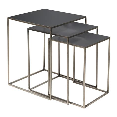 Wall Stickers For Home Decoration metal design nesting tables freja by broste coenhagen