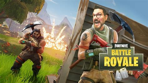 game  awesome fortnite battle royale gameplay