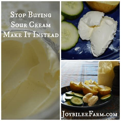 how to make sour cream at home