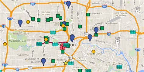 houston map of high water houston oem on quot map updated to include