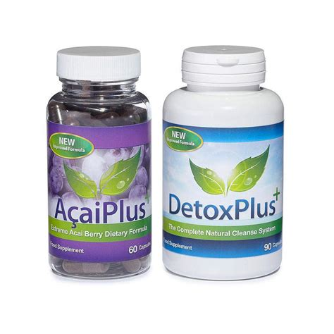 Evolution Slimming Detox Plus Reviews by Acai Plus Detox Plus Cleanse Combo Acai Berry