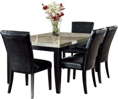 steve silver monarch table 4 chairs homemakers furniture