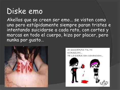 imagenes suicidas de emos que es un emo