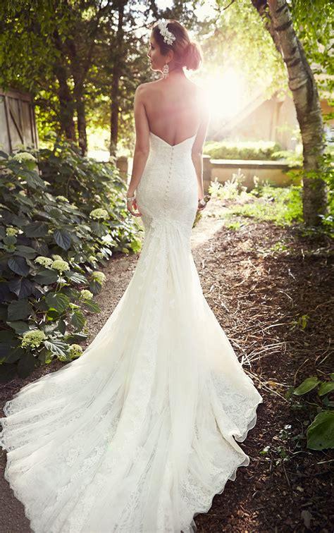 backless lace wedding dress essense  australia