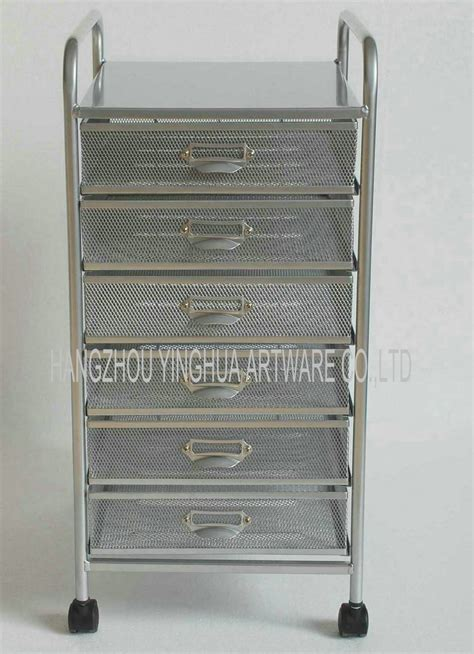 6 drawer mesh rolling cart china mesh rolling file cart with 6 drawers china file
