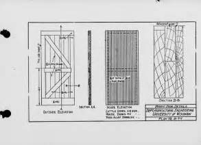 the state index of plans october 1924 barn door details plan no b 7