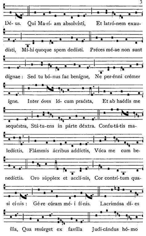 cantano gli angeli testo canti per i defunti la sequenza francescana dies irae