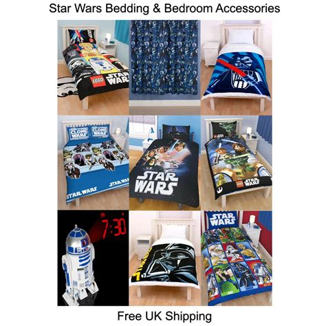 star wars bedroom accessories star wars duvets bedding bedroom accessories free uk p