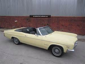 1966 chevrolet impala ss convertible all
