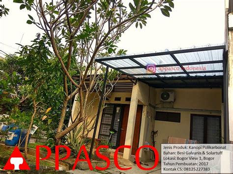 Jual Kandang Pagar Murah Meriah kanopi atap transparan polikarbonat murah di bogor jual