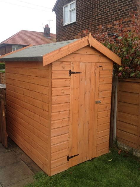 4ft Shed by Garden Shed 8ft X 4ft Storage Shed 12mm Shiplap T G Floor