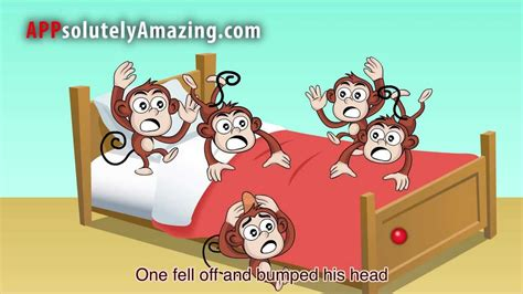 youtube monkeys jumping on the bed five little monkeys jumping on the bed youtube
