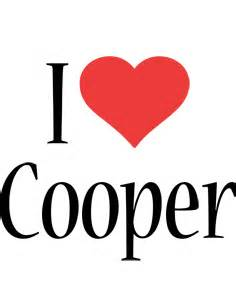 Personalized Name Posters Cooper Logo Name Logo Generator Kiddo I Love Colors Style