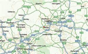 Halifax England Map by Halifax United Kingdom Location Guide