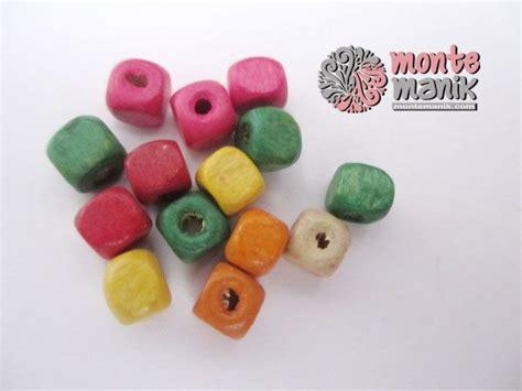 Bahan Handmade Craft http montemanik product manik kayu 01 manik kayu 01 diameter 6 mm warna cur sesuai