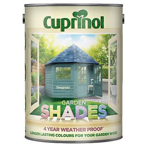 Homebase Shed Paint by Cuprinol Garden Shades