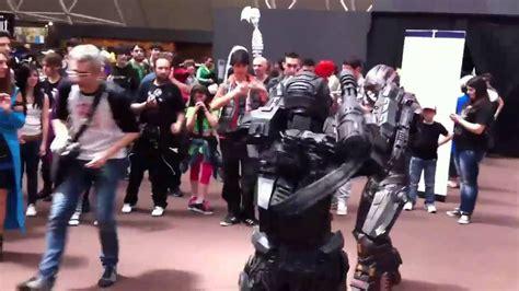 iron man war machine cosplay youtube