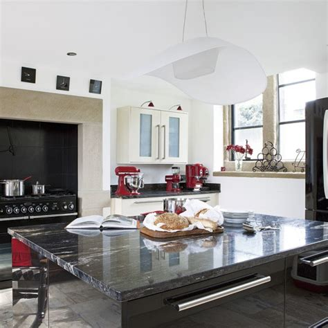 cream and black kitchen ideas modern black and cream kitchen kitchen housetohome co uk