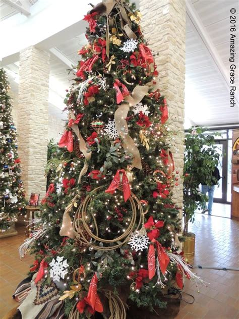 how to decorate a tree in western cowboy decor and tiny house western tree decorating ideas white house