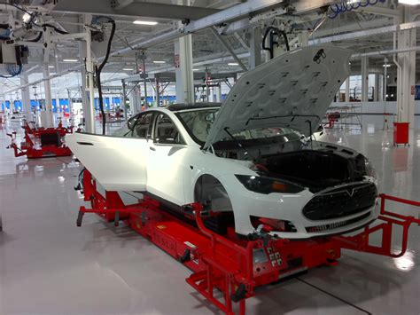 Tesla Model S Factory Tesla Model S Weight Distribution