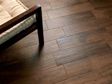 Tabula Cappuccino Wood Plank Porcelain Tile from Floor