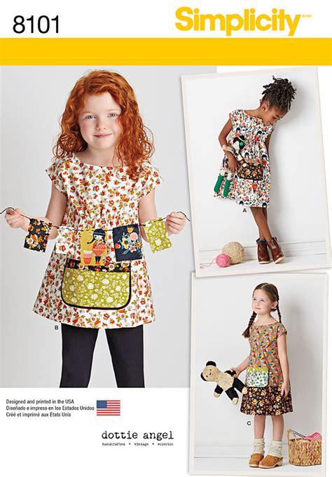 Dress Dotie Tunic simplicity 8101 child s dress and tunic from dottie dottie children s and tunics