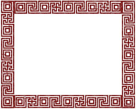 greek pattern frame greek key frame embroidery design annthegran