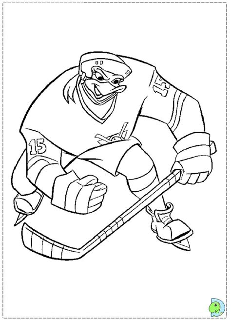 anaheim ducks coloring pages mighty ducks coloring page dinokids org