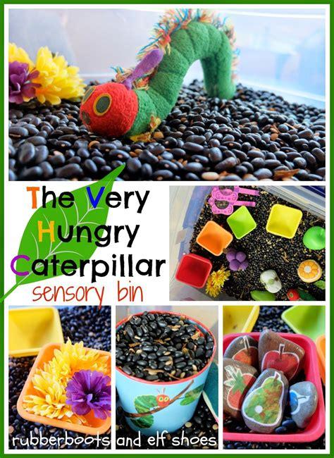 rubberboots and elf shoes rubberboots and elf shoes very hungry caterpillar sensory