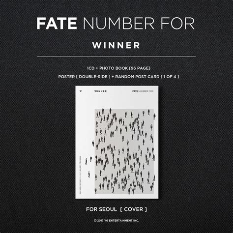 Winner Fate Number For Album Unsealed winner single album fate number for more info 0404 scoopnest